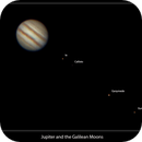 Jupiter and Moons,                                Jammie Thouin