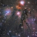 """NGC2170 """" Nébuleuse de l'Ange """",                                Gkar"""