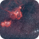 Heart and Soul Nebulae, Double Cluster, and 4 large obscure Planetary Nebulae,                                Ray Butler
