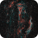 Veil nebula (Ha/OIII_HOO_RGB),                                *philippe Gilberton