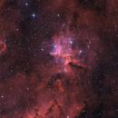 IC 1805 / Melotte 15 - BiColor,                                Jonas Illner
