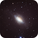 NGC 3521 flocculent spiral galaxy in Leo. ,                                jerryyyyy