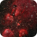 NGC6334 and the Cat's Paw Nebula in LRGB,                                TWFowler