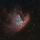 NGC281 Pacman Bi-Color,                                Oliver