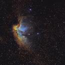 Wizard Nebula in Hubble Palette,                                John Willis