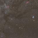 Conjunction Mars and Pleiades,                                Annette Sieggrön