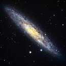 NGC253 - Galaxie du Sculpteur - LRGB,                                BLANCHARD Jordan