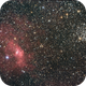 NGC 7635 and M52,                                James Pelley
