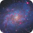 M33 LRGB +Ha,                                Christopher Gomez