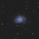 NGC4535 and NGC4526 LRGB Mosaic,                                Christopher Gomez