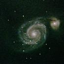 M51 - Whirlpool Galaxy,                                Martijn Dassen