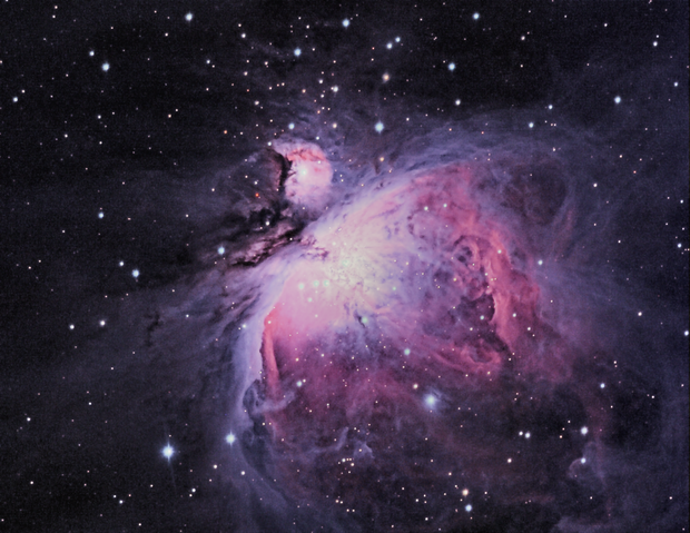 M42 Orion Nebula LLRGB,                                Barry Brook