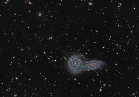 NGC 5426 and NGC 5427 (Arp 271),                                KuriousGeorge