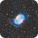 M27 The Dumbbell Nebula in Vulpeccula HOO.,                                Pat Rodgers
