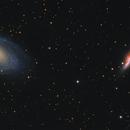 M81 M82 Bodes Galaxies,                                Elmiko