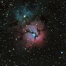 Trifid Nebula M20,                                Lachezar Krastev