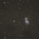M51 (Constellation Canes Venatici),                                Hans-Peter Olschewski