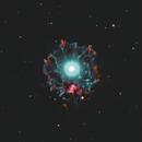 NGC6543  - Cat's Eye Nebula / 2020,                                Mikko Viljamaa