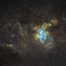 NGC 3372 (Carina Nebula) in SHO,                                Paweł Koczan