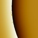 Solar prominence 20181208,                                Sergio Alessandrelli