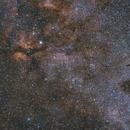 Sadr (gamma Cygni) semi-wide field in OSC,                                Przemysław Majewski & teleskopy.pl