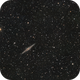NGC 891 Outer Limits Galaxy - LRGB - Esprit 120 - ASI1600MM,                                Rowland Archer