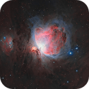 Great Nebula In Orion and Running Man,                                Tom Peter AKA Astrovetteman