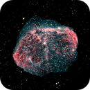 First Image with ONAG - Crescent Nebula,                                dts350z