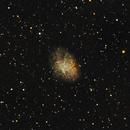 M1 Crab Nebula,                                Mario Umaña