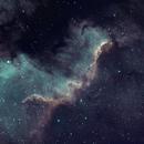 NGC 7000 The North America Nebula,                                 degrbi
