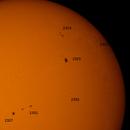 Sun Spots April 2015,                                astromatthias