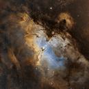 M-16 Eagle Nebula Hubble Palette,                                Tiago Ramires Domezi