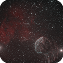 IC 443 the Jellyfish Nebula  ,                                alphaastro (Rüdiger)