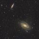 Bodes Galaxy M81 & M82,                                Michael Völker