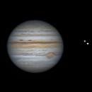 Jupiter (Time lapse) - 2021/08/21,                                Olivier Ravayrol