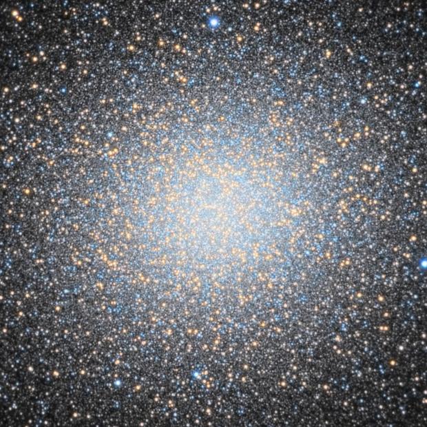 NGC 5139 Omega Centauri (full res crop),                                Giovanni Paglioli