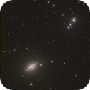 The Amazing Sombrero Galaxy - M104,                                Andy 01