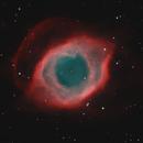 Eye of Sauron NGC7293 in HOO,                                Benjamin Csizi