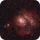 M8 - Lagoon Nebula,                                Shane Poage