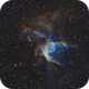 NGC2359 - Thor's Helmet in HOO,                                Emil Andronic