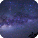 Milky Way - Canon EOS 550D - 20 sec. f/4 18mm ISO 3200,                                AstroVaxter