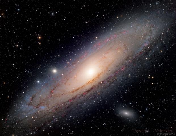 M31 - Andromeda Galaxy,                                Elvie1