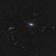 Sombrero galaxy M104,                                Bach hamba Youssef