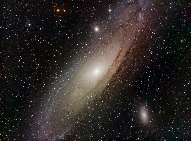 Andromeda Galaxy - M31,                                Dennis Carmody