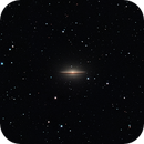 M104 (Messier 104, the Sombrero Galaxy),                                Oleg Zaharciuc