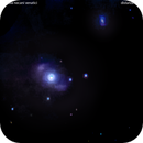 ngc4151 galassia nei cani venatici                                   distanza   42 milioni  A.L.,                                Carlo Colombo