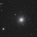 Amas globulaire M3 - Sadr Espagne,                                Julien Bourdette
