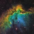 NGC 7380 - Wizard Nebula Closeup,                                mr1337
