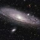 M31 2019 - LRGB-HDR,                                AstroMo