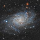 M33 Triangulum Galaxy (another night of integration),                                Giosi Amante